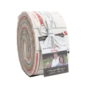 Moda Red Barn Christmas Jelly Roll