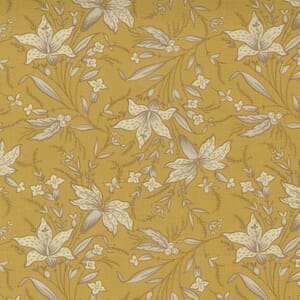 Moda Fabric Regency Somerset Frome India Yellow 42362 19