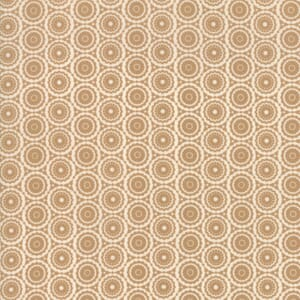 Moda Fabric Stiletto Decolette Caramel