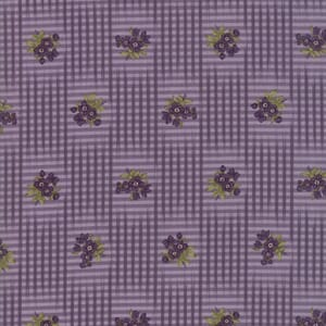 Large Image of Moda Fabric Sweet Violet Floral Violet