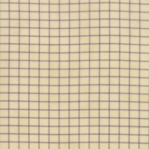 Large Image of Moda Fabric Sweet Violet Plaid Ivory
