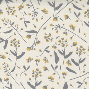 Moda Fabric Through the Woods Foraged Floral Ivory 43113 11