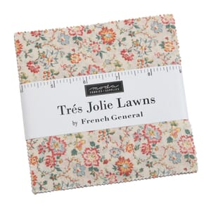 Moda Tres Jolie Lawns Charm Pack Small Image