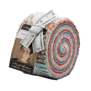 Moda Tres Jolie Lawns Jelly Roll Small Image