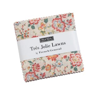 Moda Tres Jolie Lawns Mini Charm