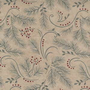 Moda Fabric Warm Winter Wishes Love And Hope Antler 6832 15