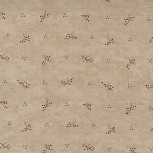 Moda Fabric Warm Winter Wishes Twigs And Snow Antler 6834 15