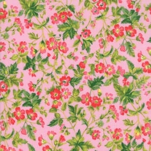 Large Image of Moda Fabric Wildflowers IX Dogwood Blossom Petunia