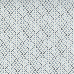 Small Image of the Moda Fall Fantasy Flannels Back and Forth Birch Fabric 6844 15F