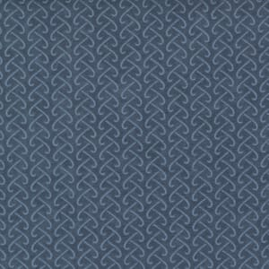 Small Image of the Moda Fall Fantasy Flannels Back and Forth Storm Fabric 6844 27F