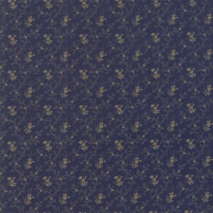 Large Image Moda Fabric Flower Garden Gatherings Forget Me Not