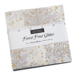 Moda Forest Frost Glitter 2020 Charm Pack