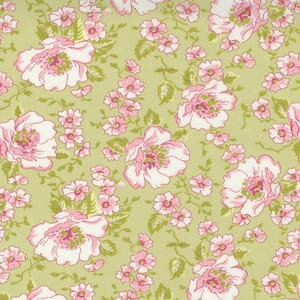 Small Image of the Moda Grace Romantic Roses Willow Fabric 18720 15