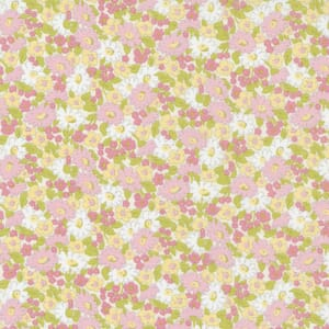 Small Image of the Moda Grace Small Floral Sunbeam Fabric 18722 11