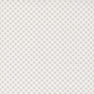 Small Image of the Moda Grace Gingham Linen White Fabric 18723 11