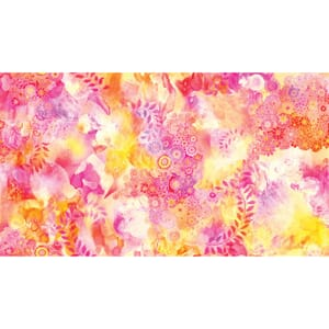 Large Image of Moda Fabric Gradients 2 Watercolor Garden Sunrise