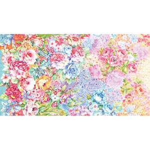 Large Image of Moda Fabric Gradients 2 Garden Collage Parfait