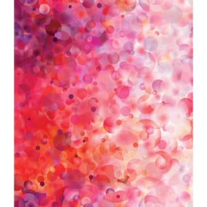 Large Picture of Moda Fabric Gradients Bubbles Reds Pinks