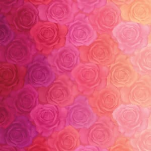 Large Picture of Moda Fabric Gradients Roses Reds Pinks