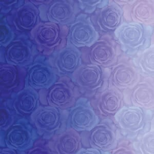 Large Picture of Moda Fabric Gradients Roses Blues