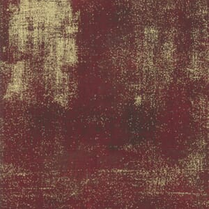 Large Image of Moda Fabric Grunge Metallic Burgundy