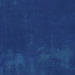 Moda Fabric Quilt Backing Grunge Cobalt 108 Inch wide