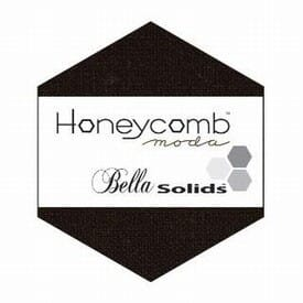 Small Image of Moda Honeycombs Bella Solid Black