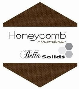 Small Image of Moda Honeycombs Bella Solid Brown