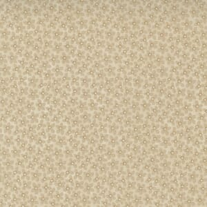 Large Image of the Moda Hope Blooms Toadflax Sand Fabric 9671 11