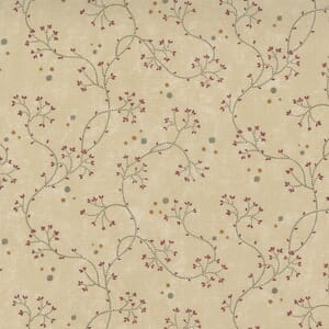Large Image of the Moda Hope Blooms Willowherb Sand Fabric 9672 11
