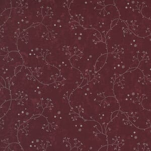 Large Image of the Moda Hope Blooms Willowherb Rose Fabric 9672 13