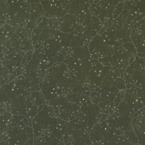 Large Image of the Moda Hope Blooms Willowherb Sage Fabric 9672 15