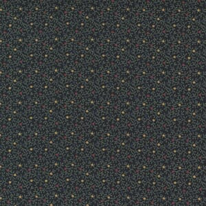 Large Image of the Moda Hope Blooms Tick Clover Midnight Fabric 9673 18