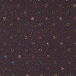 Large Image of the Moda Hope Blooms Wind Swept Aster Fabric 9674 16