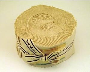 Small Image of Moda Jelly Rolls Natural Plain Bella Solid