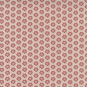Large Image of the Moda La Vie Boheme Flaneur Blender Pearl French Red Fabric 13906 15