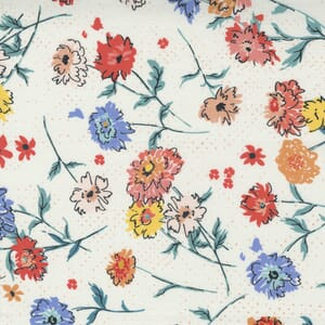 Small Image of the Moda Lady Bird Full Bloom Porcelain Fabric 11871 11