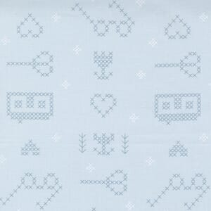 Large Image of the Moda Make Time Icons Breeze Fabric 24570 15