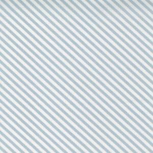 Small Image of the Moda Make Time Stripe Bluebell Fabric 24575 14