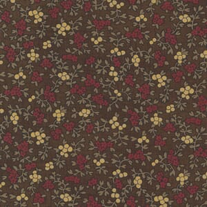 Large Image of the Moda Mary Anns Gift Berry Picking Saddle Fabric 31631 20