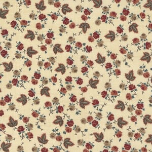 Small Image of the Moda Mary Anns Gift Berry Picking Biscuit Fabric 31632 11