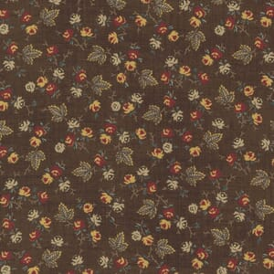 Large Image of the Moda Mary Anns Gift Berry Picking Saddle Fabric 31632 18