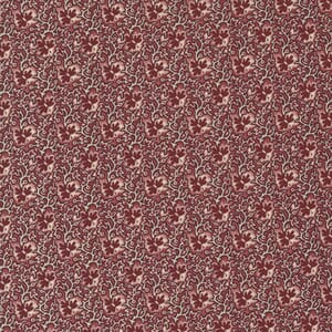 Large Image of the Moda Mary Anns Gift Creekside Red Fabric 31633 14