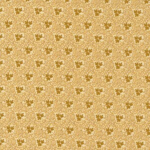 Large Image of the Moda Mary Anns Gift Creekside Butter Fabric 31633 16