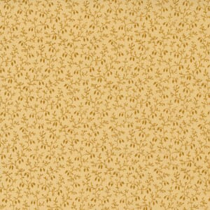 Large Image of the Moda Mary Anns Gift Rambling Vine Butter Fabric 31635 14
