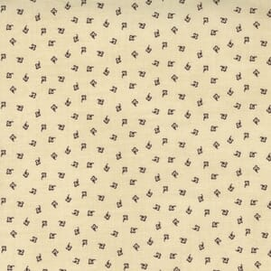 Large Image of the Moda Mary Anns Gift Effies Skirt Biscuit Fabric 31636 12
