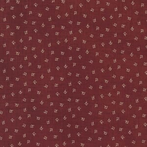 Large Image of the Moda Mary Anns Gift Effies Skirt Red Fabric 31636 14