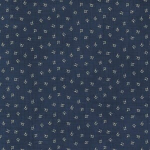 Small Image of the Moda Mary Anns Gift Effies Skirt Indigo Fabric 31636 19