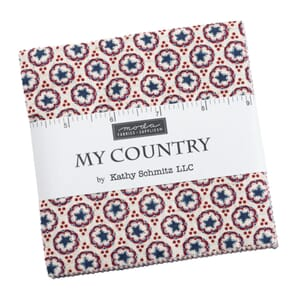 Small image of Moda My Country Charm Pack 7040PP