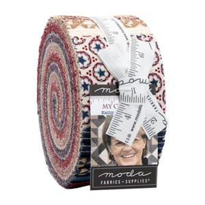 Small image of Moda My Country Jelly Roll 7040JR